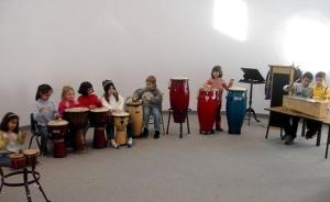 sekolah musik drumer